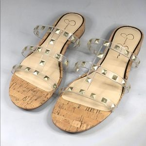 (p260) Jessica Simpson Sandals Women's Shoes 8M
